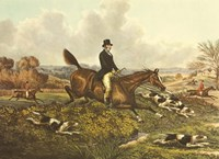 The English Hunt VII Fine Art Print