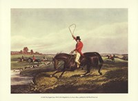 The English Hunt VIII Fine Art Print