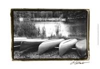 """Lake Living I by Laura Denardo - 19"""" x 13"""", FulcrumGallery.com brand"""