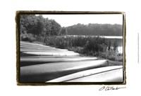 "Lake Living III by Laura Denardo - 19"" x 13"", FulcrumGallery.com brand"