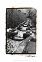 "Italian Garden IV by Laura Denardo - 13"" x 19"""