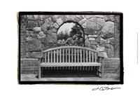 """Garden Respite III by Laura Denardo - 19"""" x 13"""""""