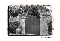 Old Bermuda Gate I Fine Art Print