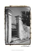 "Old Bermuda Gate II by Laura Denardo - 13"" x 19"""