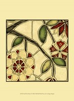 """Small Floral Mosaic IV by Megan Meagher - 10"""" x 13"""""""