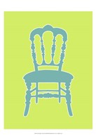Small Graphic Chair III (U) Framed Print