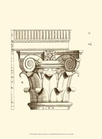 Small Corinthian Detail I (U) Framed Print