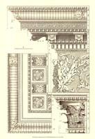 Small Corinthian Detail VI (U) Fine Art Print