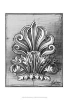 """Custom Classical Sketch III (U) by Ethan Harper - 13"""" x 19"""""""