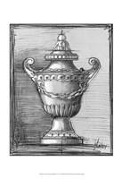 """Custom Classical Sketch IV (U) by Ethan Harper - 13"""" x 19"""""""