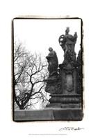 "Charles Bridge in Morning Fog III by Laura Denardo - 13"" x 19"", FulcrumGallery.com brand"