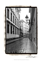 The Streets of Prague III Fine Art Print