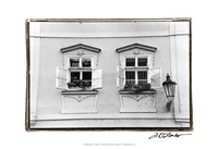 "Glimpses of Prague VI by Laura Denardo - 19"" x 13"""