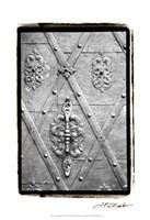 "Distinguished Doors III by Laura Denardo - 13"" x 19"""