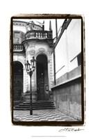 """Passing through Prague III by Laura Denardo - 13"""" x 19"""", FulcrumGallery.com brand"""