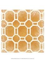 """Small Modern Symmetry I by Chariklia Zarris - 10"""" x 13"""""""