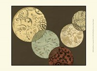 """Small Pattern Composition I (P) by Megan Meagher - 13"""" x 10"""" - $10.49"""