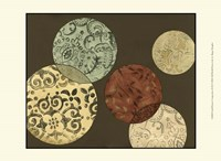 """Small Pattern Composition II (P) by Megan Meagher - 13"""" x 10"""" - $10.49"""
