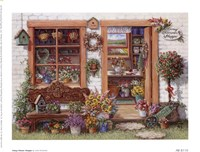 Fancy Flower Shoppe Fine Art Print