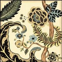 Small Jacobean Tile I (P) Fine Art Print