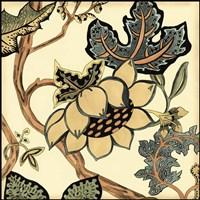 Small Jacobean Tile IV (P) by Chariklia Zarris - various sizes