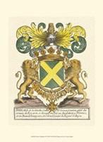 Noble Heraldry I Fine Art Print