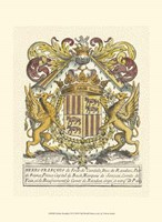 Noble Heraldry II Fine Art Print