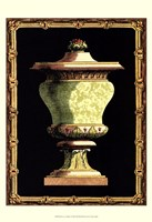 "Jade Urn on Black I by Vision Studio - 13"" x 19"", FulcrumGallery.com brand"