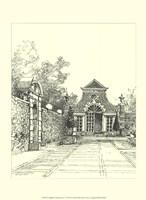 English Architecture V Fine Art Print