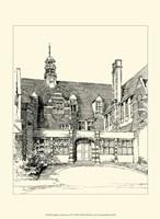 English Architecture VI Fine Art Print