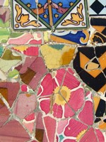 Mosaic Fragments III by Vision Studio - various sizes