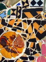 Mosaic Fragments IV by Vision Studio - various sizes