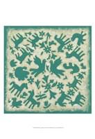 "Folk Story in Jade by Chariklia Zarris - 13"" x 19"", FulcrumGallery.com brand"