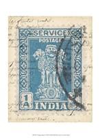 """Vintage Stamp I by Vision Studio - 10"""" x 13"""""""