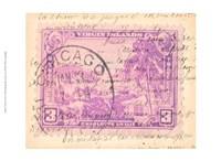 "Vintage Stamp IV by Vision Studio - 13"" x 10"""
