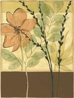 Printed Tranquil Garden II by Jennifer Goldberger - various sizes