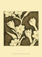 "Mini Floral Quartet I by Megan Meagher - 10"" x 13"""