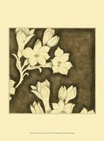 "Mini Floral Quartet II by Megan Meagher - 10"" x 13"""