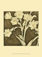 "Mini Floral Quartet III by Megan Meagher - 10"" x 13"""