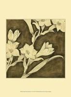 """Mini Floral Quartet IV by Megan Meagher - 10"""" x 13"""""""