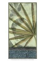 "Small Sophisticated Palm I by Jennifer Goldberger - 10"" x 13"""