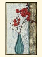 """Small Orchid Opulence I (P) by Jennifer Goldberger - 10"""" x 13"""" - $10.49"""