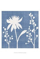 Small Blue Linen I (P) Fine Art Print