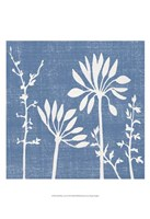 Small Blue Linen IV (P) Fine Art Print