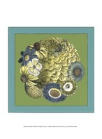 "Small Celadon Bouquet II by Chariklia Zarris - 10"" x 13"""