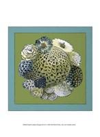 "Small Celadon Bouquet III by Chariklia Zarris - 10"" x 13"""
