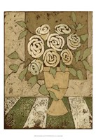 """Small Golden Bouquet II by Megan Meagher - 13"""" x 19"""""""