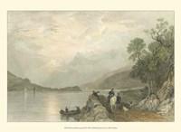 Pastoral Riverscape III Fine Art Print