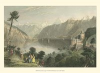 Pastoral Riverscape V Fine Art Print