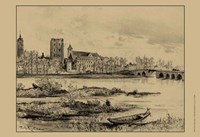 Riverside Estate I Fine Art Print